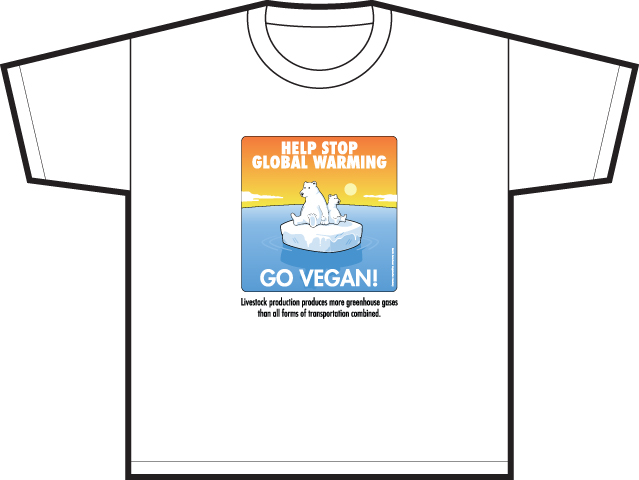 Help Stop Global Warming  Go Vegan!